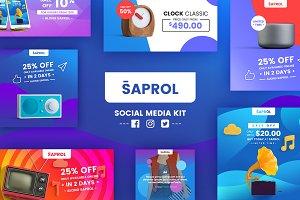 Saprol Social Media Kit