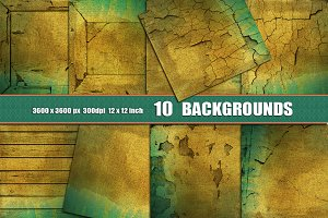 10 Distressed wall backgrounds linen