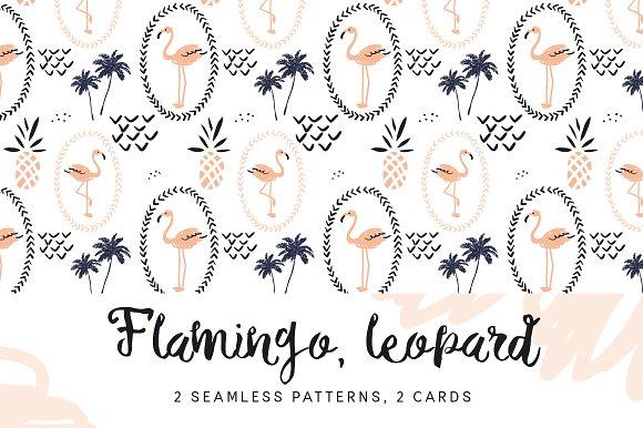 Flamingo Leopard