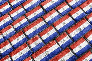 Paraguay Flag Pattern