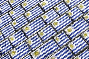Uruguay Flag Pattern