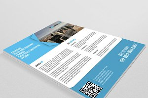 Corporate Flyer template-V55