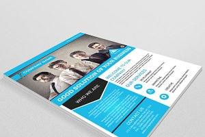 Multipurpose corporate flyer-V56
