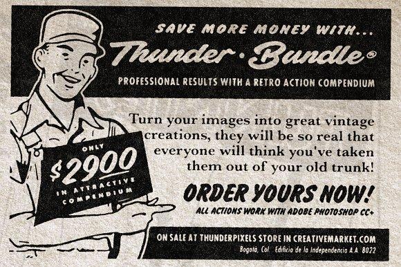 ThunderBundle Retro FX Compendium