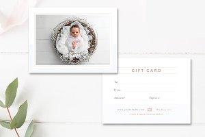Newborn Photographer Gift Card INDD