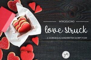 Love Struck Script Handwritten Font
