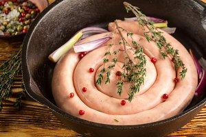 homemade chicken sausage