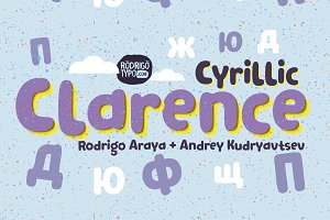 Clarence Cyrillic all family