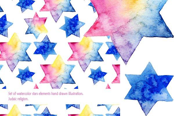 Stars background & kit