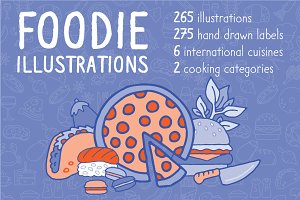 Foodie Illustration Pack