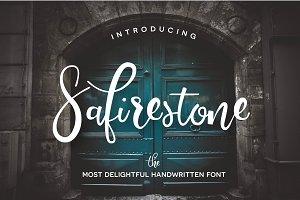 Safirestone Font + Extras