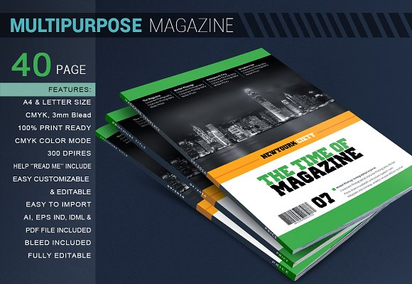 time magazine template magazine templates creative market