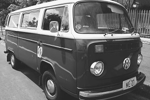 Volkswagen Bus Old