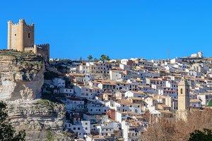 Vista de Alcala del Jucar (Albacete)