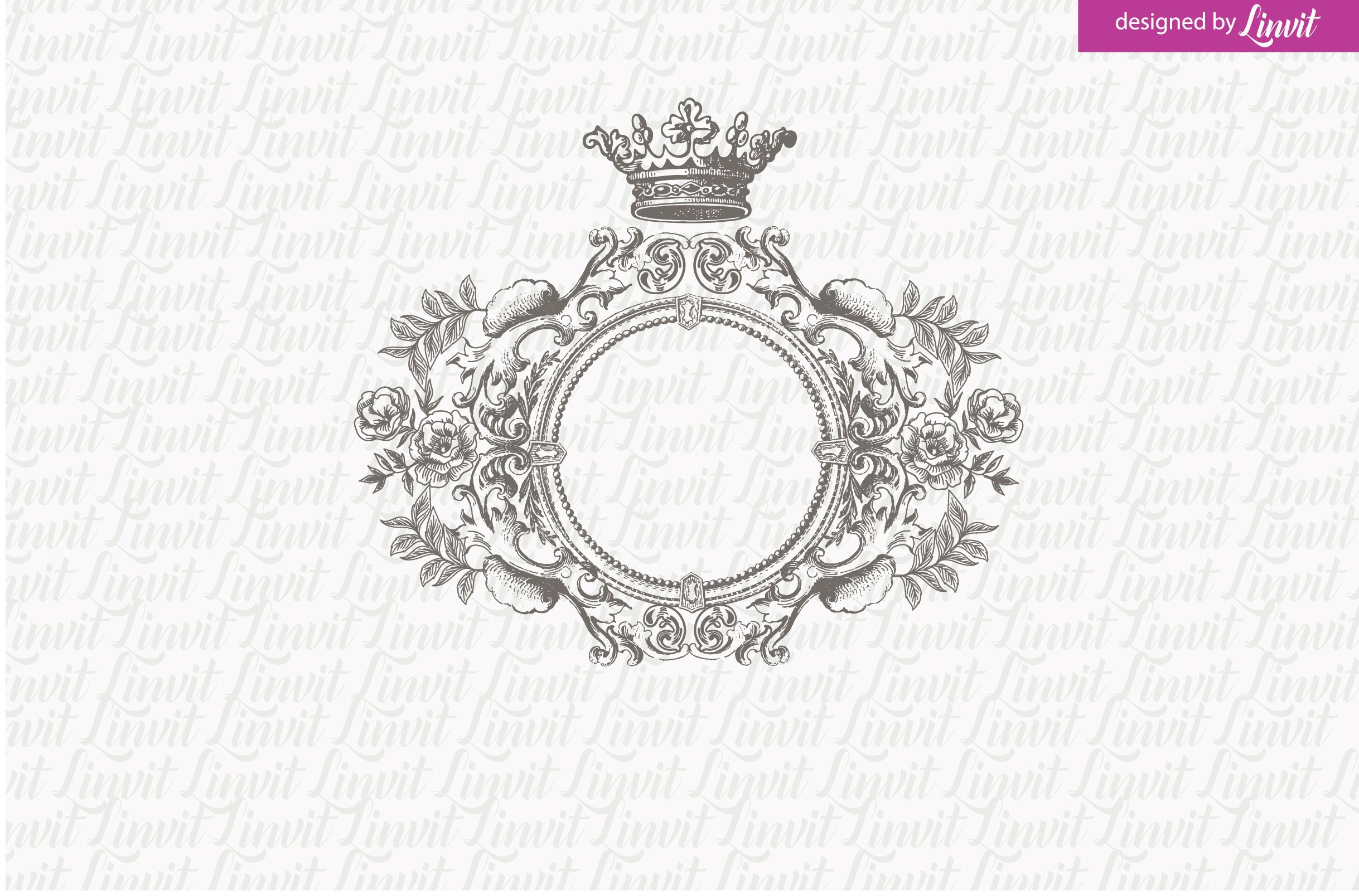 Royal Wedding Logo ~ Logo Templates ~ Creative Market