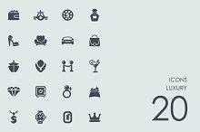 Luxury icons