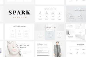 Spark Minimal Keynote Template
