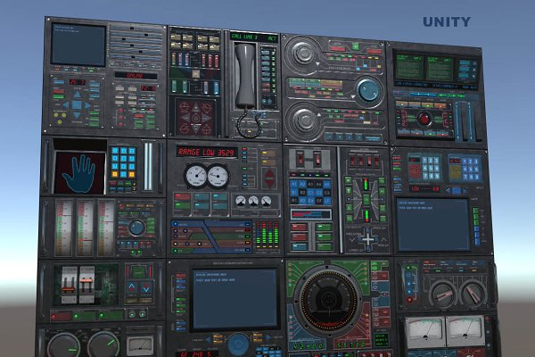 3D Objects - Control panel pack
