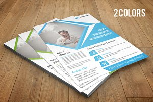 Corporate Flyer template-V58