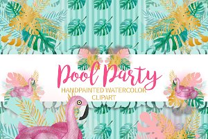 Pool Party Clipart Png