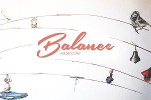 Watercolor Balance Bundle
