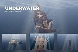 Underwater - Photoshop Action