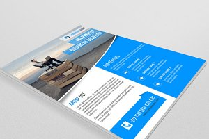 Corporate Flyer template-V59