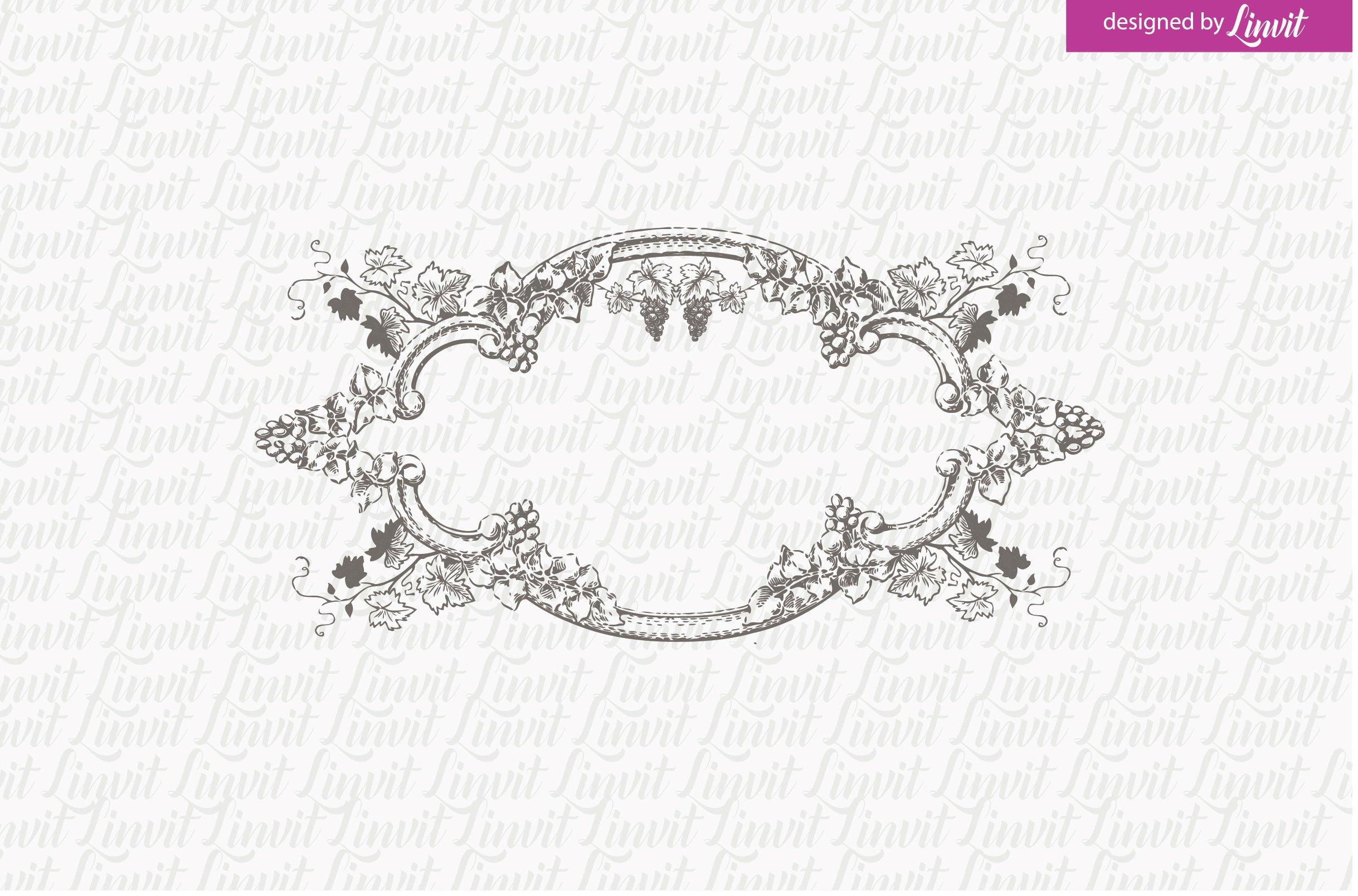 Vintage Vine Wedding Logo ~ Logo Templates ~ Creative Market