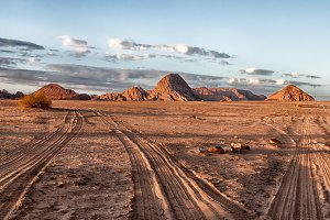 One day in Wadi Rum