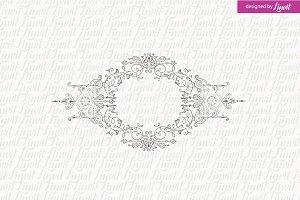Luxury, Vintage Wedding Logo
