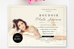 Boudoir Mini Session Template