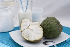 Juicy cherimoya