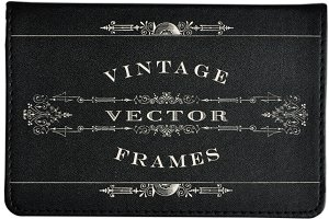 Vintage Titling Vector Frames Set 2