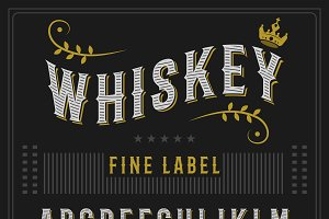 Whiskey typeface