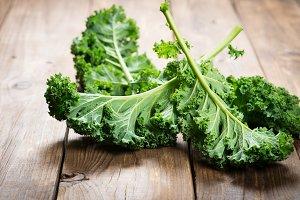 Kale leafy vegetable