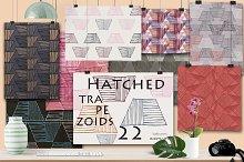 22 Seamless patterns + digital paper