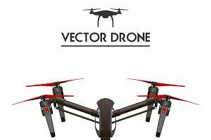 Realistic vector drone