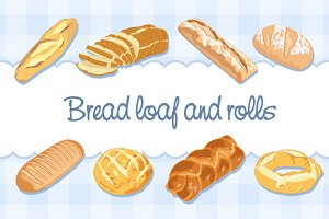 Bread loaves and threading