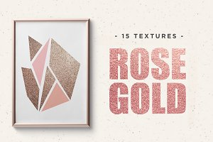 Rose Gold Pigmented Paper
