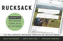 Rucksack: Animated Social Templates