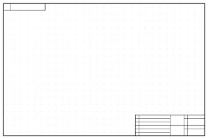 Blueprint style background on white