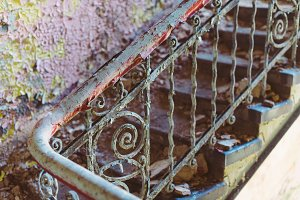 Old Stairway #13