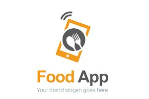 Food App Logo Template