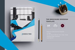 The Brochure InDesign Template