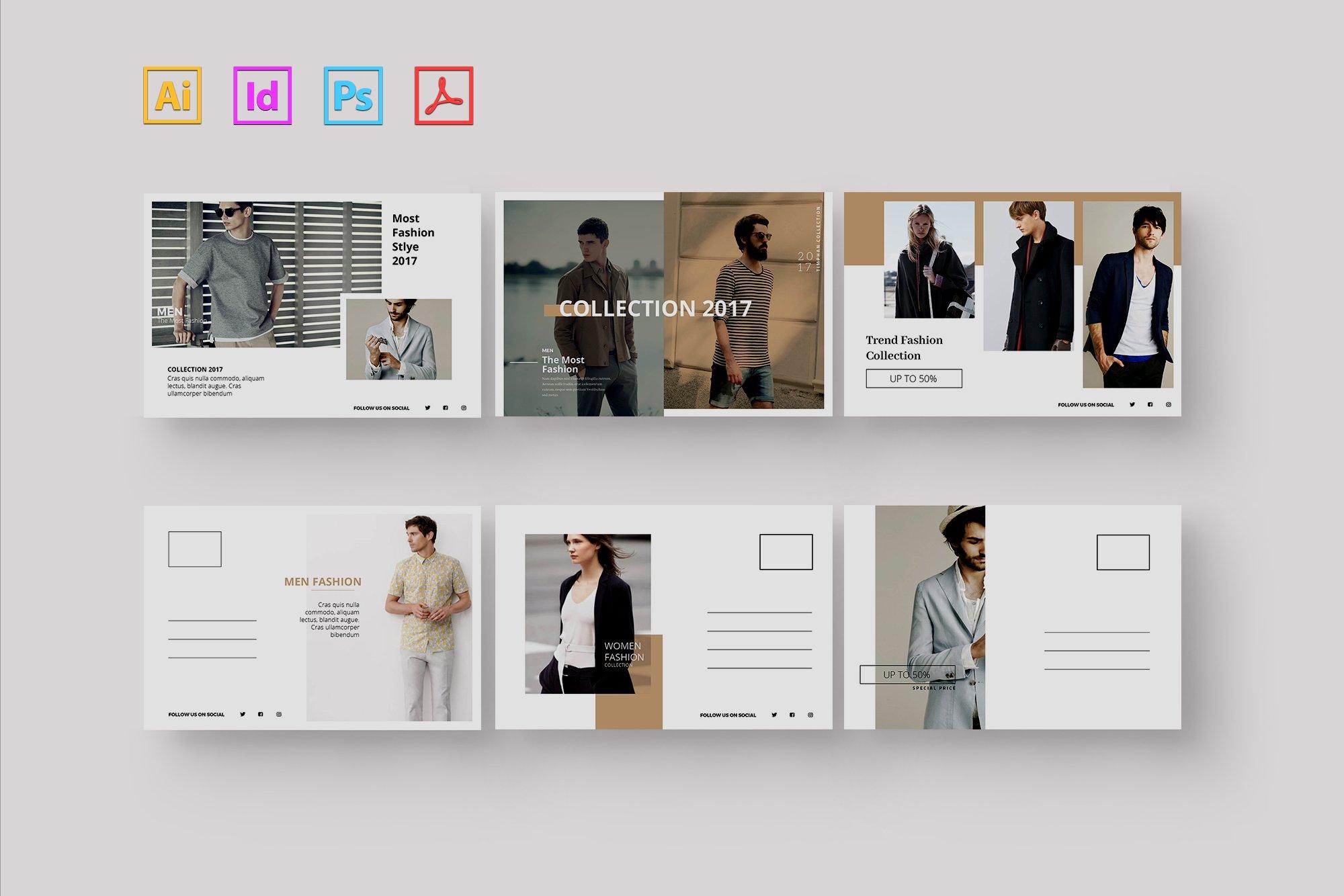 Stylish stationery set ~ Stationery Templates ~ Creative Market