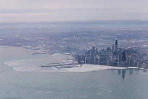 Chicago Aerial Skyline