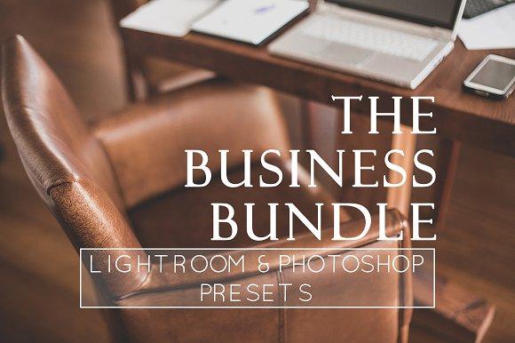 36 Business Branding LR PS Presets