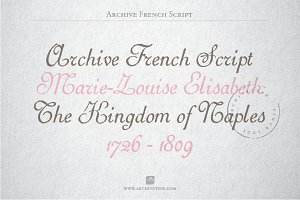 Archive French Script