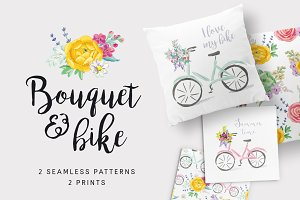 Bouquet & bike