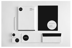 Simple Minimal Stationery Template